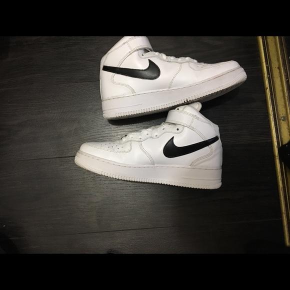 Marcado Campanilla Independiente  Nike Shoes | Air Force 1 Mid 07 Drip Custom | Poshmark
